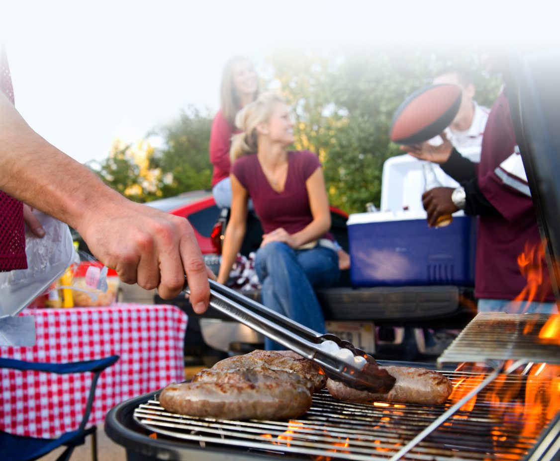 outdoor tailgating experience